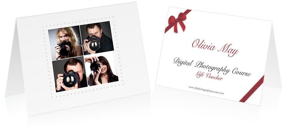 Digital Photography Course Gift Voucher Photography Pinterest