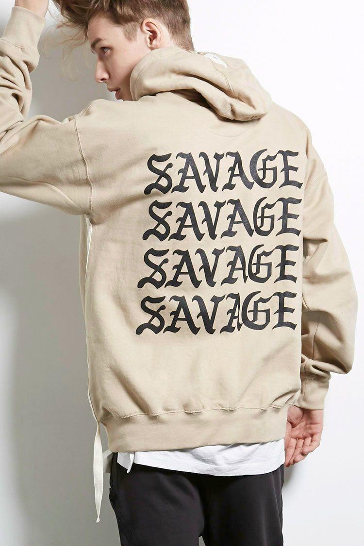 Sdc Savage Graphic Hoodie 21 Men 2000251143 Savage Mens