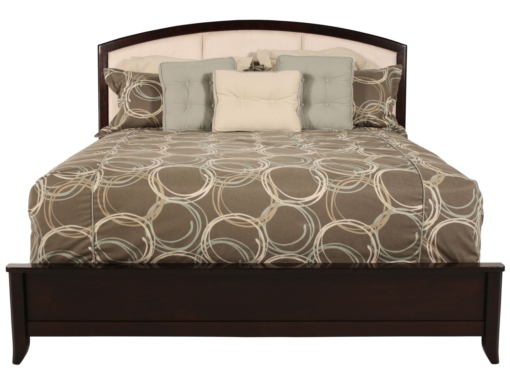 ashley lynx queen bedframe mathis brothers 277 95 for the home