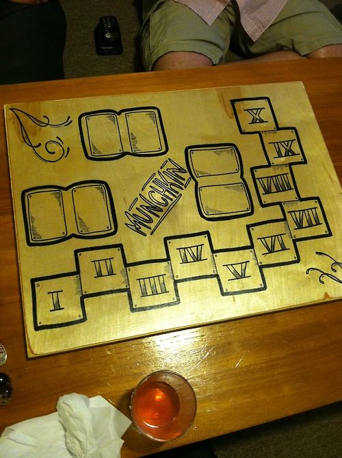Custom Munchkin Board. Awesome. | Products I Love | Pinterest ...