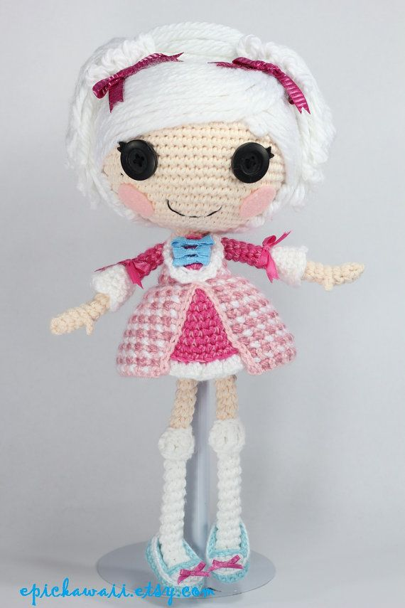 PATRÓN: Suzette Crochet Amigurumi muñeca por epickawaii en Etsy ...