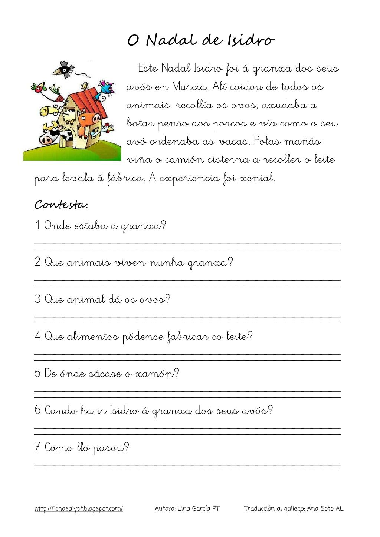 Lecturas comprensivas 21 24 galego by nomenterodelapataca via ...