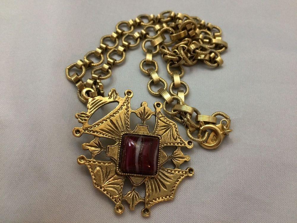 Vtg 1928 Druzy Maltese Cross Royal Knight Lords 1932 Chunky Chain Necklace Ebay Fine Costume Jewelry Vintage Costume Jewelry Costume Necklaces