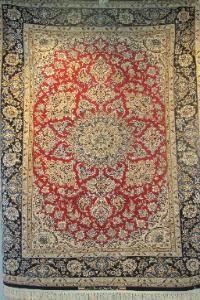Isfahan Persian carpet Dubai at Sheba Iranian Carpets Store