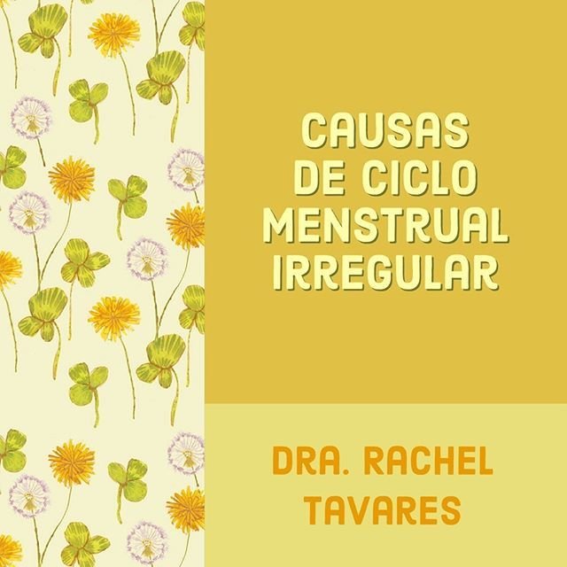 ciclos menstruais irregulares na adolescencia