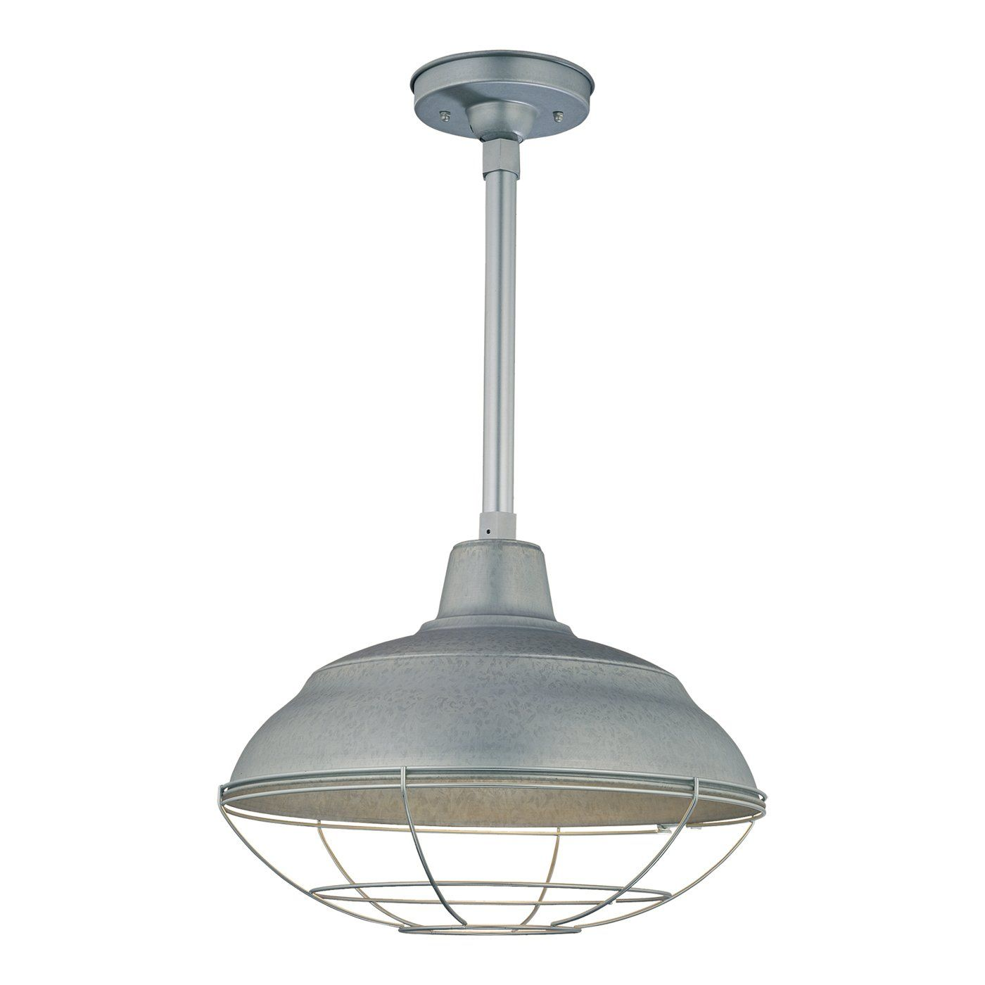 Millennium Lighting RWHS1 R Series Warehouse Shade RLM Pendant - Lighting Universe (1) 200 watt incand.