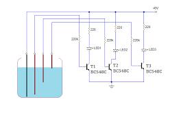 Circuit diagram water level indicator electronica pinterest circuit diagram water level indicator ccuart Choice Image