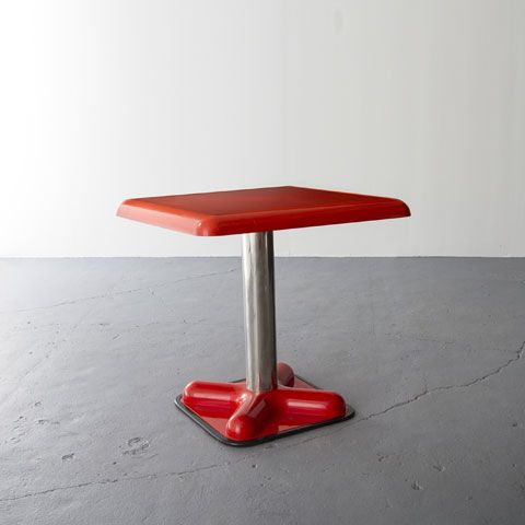 Joe Colombo; 'Birillo' Table for Zanotta, 1970.
