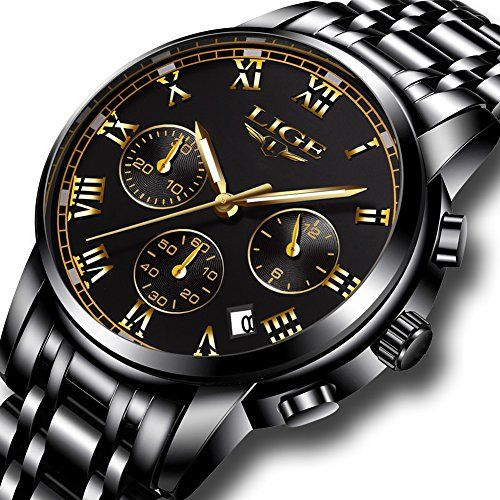 Reloj para hombre Fashion Luxury Cronógrafo relojes 8ff160f3f513