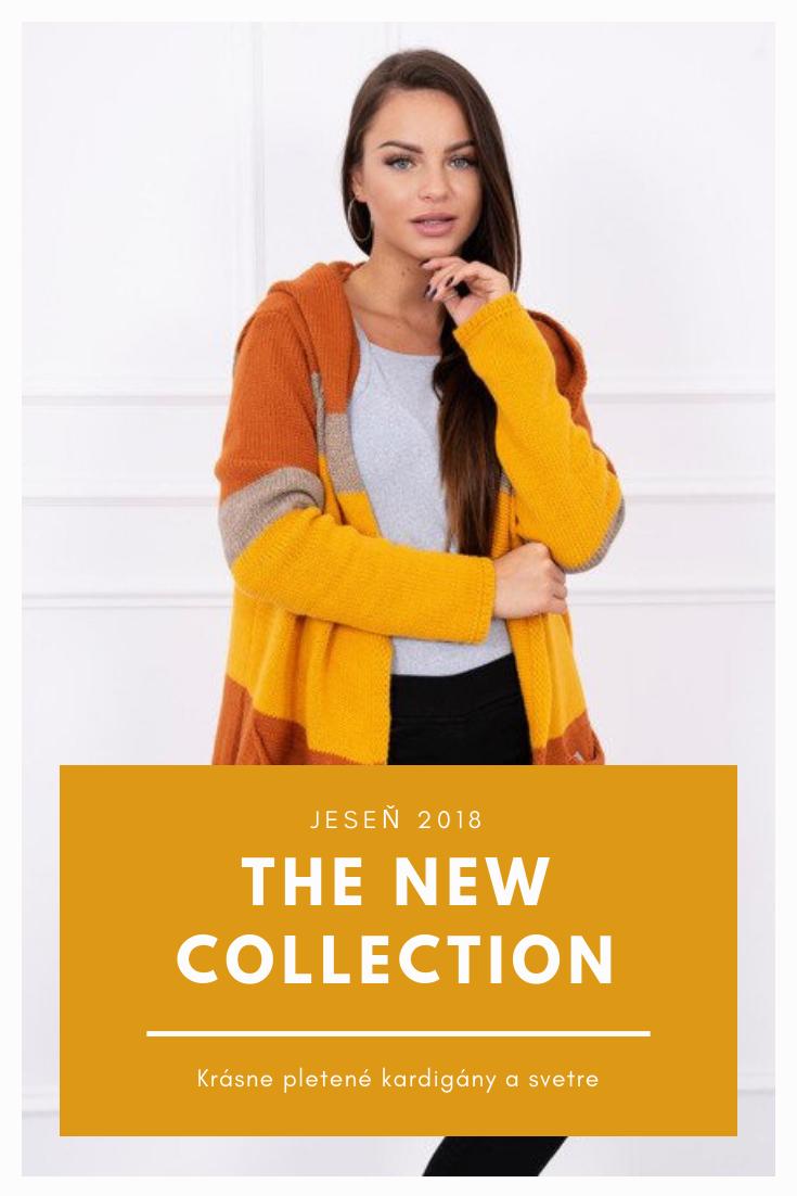 Dámske pletené kardigány z novej kolekcie 2018 nájdeš v našom internetovom  obchode www.krasnedievca. 6fabeec3118