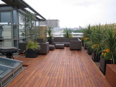 Modern Roof Terrace With Hardwood Decking By Modular By Modular Garden  Design Design Ideas Part 90