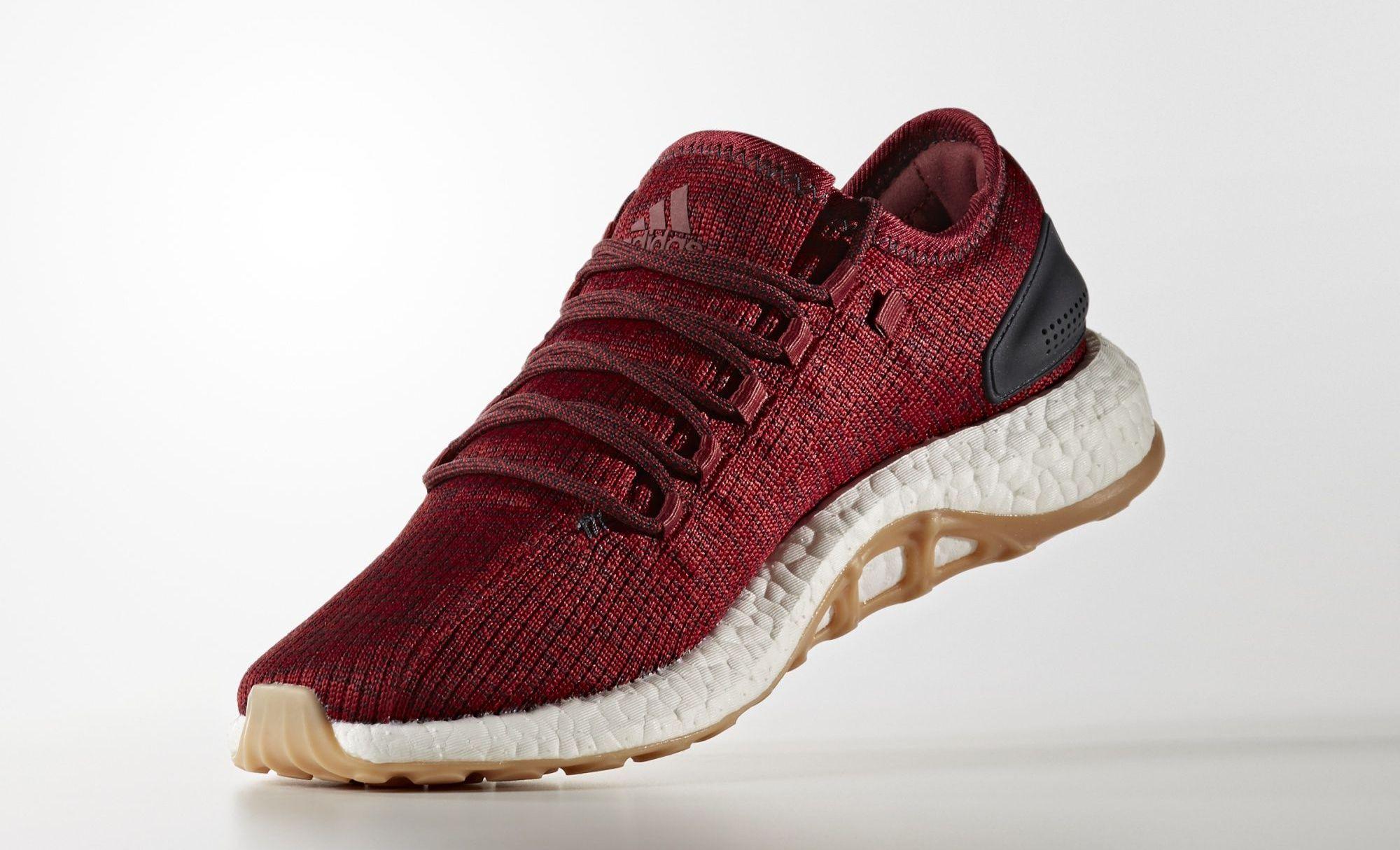 Adidas Pure Boost \\ adidas burgundy