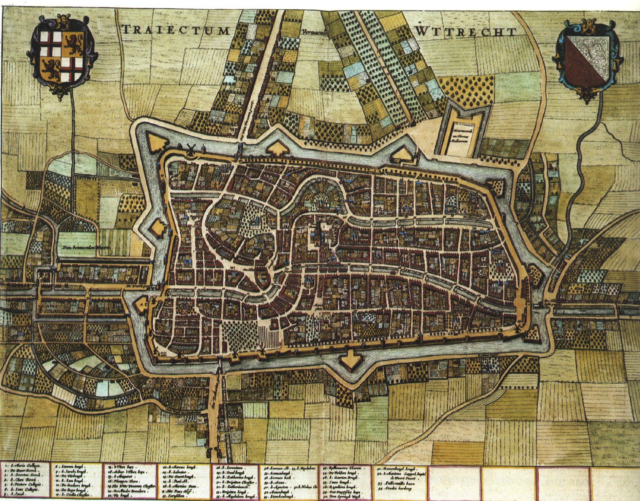 Blaeu Atlas Utrecht ca 1662 Netherlands Blaeu