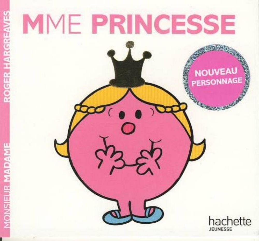 Livre Monsieur Madame Madame Princesse Roger Hargreaves