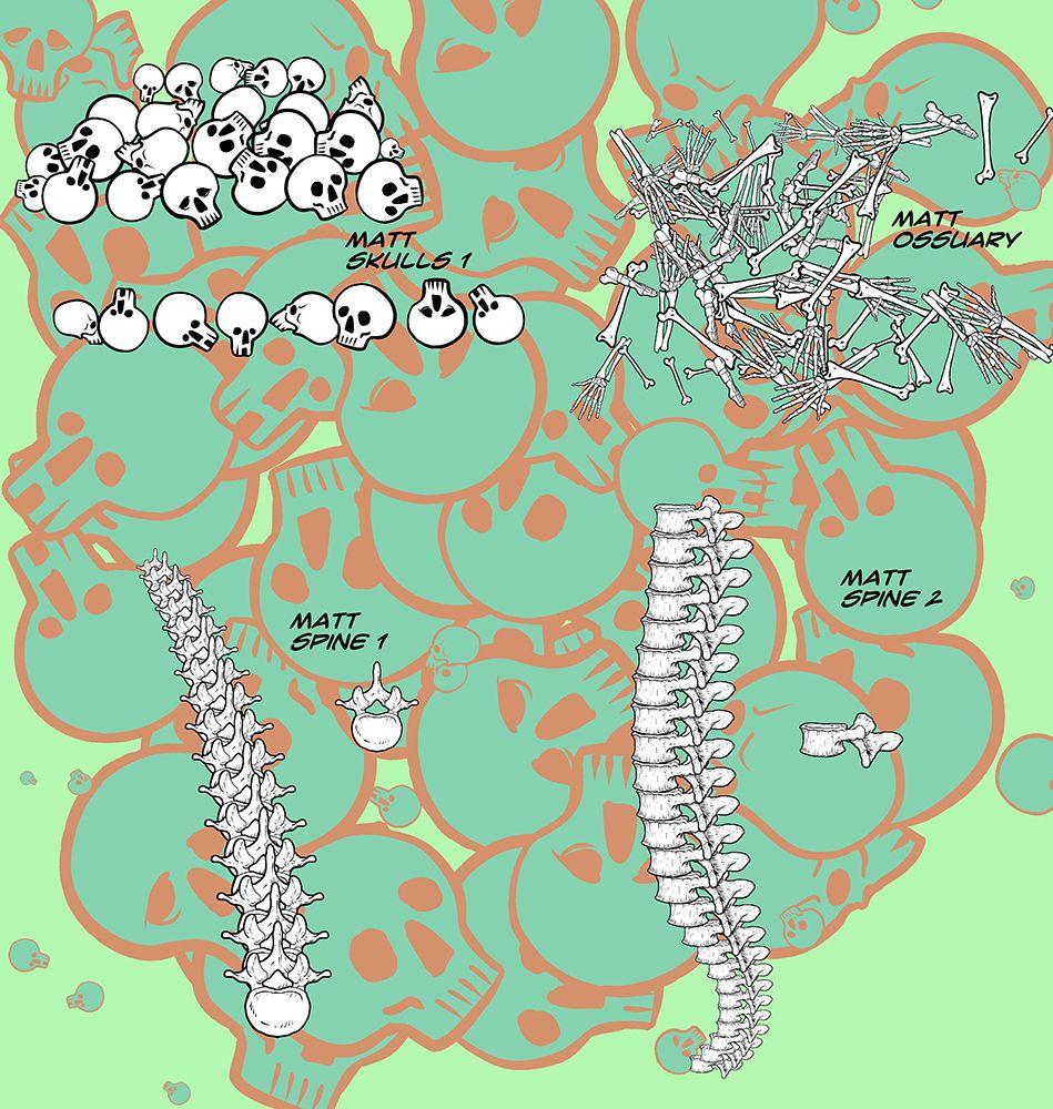 Matt S Bones Collection For Manga Studio 5 By Toongsteno Manga Studio Digital Art Anime Manga