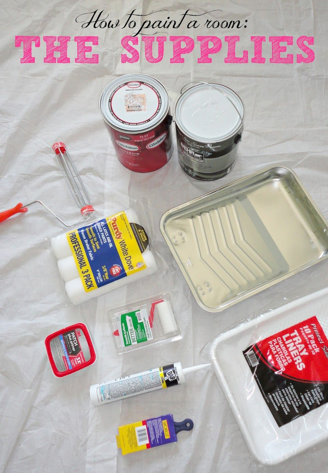 How To Paint A Room In 10 Easy Steps Complete Tutorial With Everything You Need Know Including What Products Use This Is Great