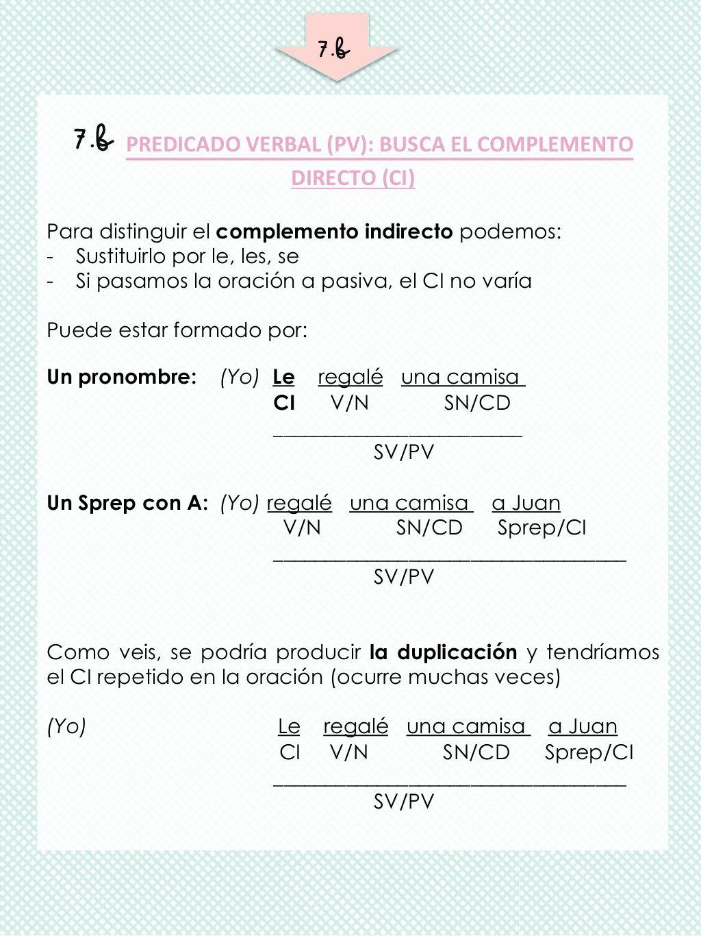 Guía Para Analizar Sintácticamente Oraciones Simples