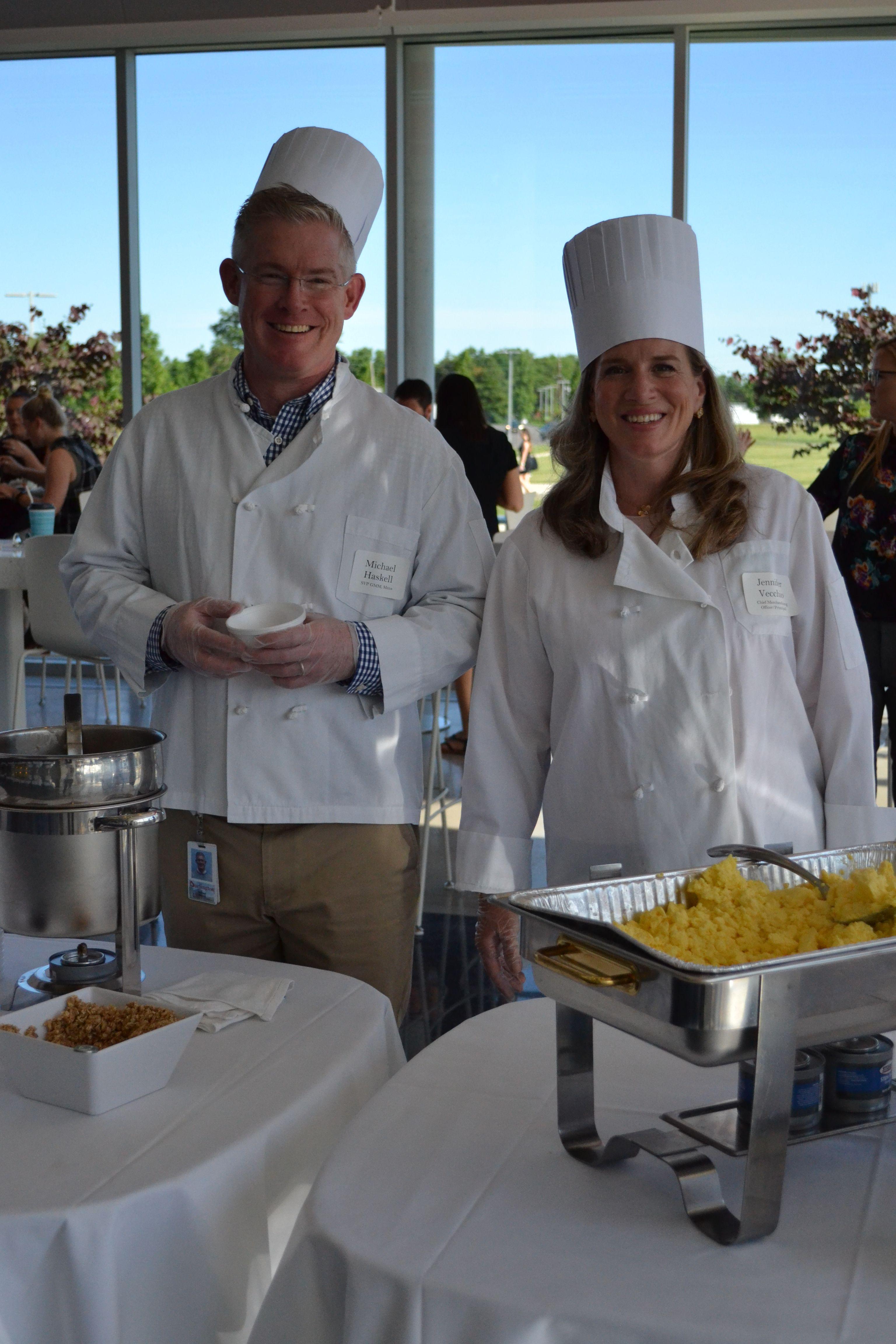 Burlingtons annual assocaite appreciation breakfast