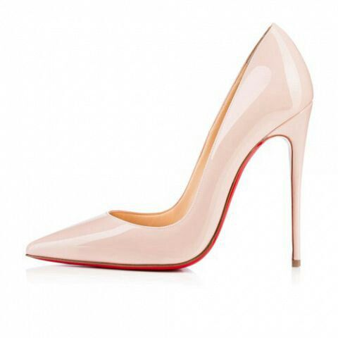louboutin pigalle creme
