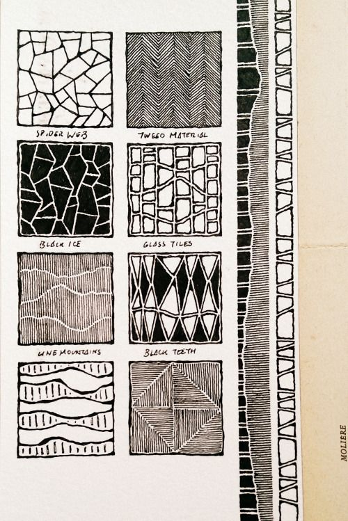 Moleskine 03, #077 | Rebecca Blair Inspiration | Pinterest | Muster ...