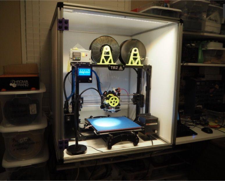 DIY Enclosures for 3D Printers To Prevent Warping 3d