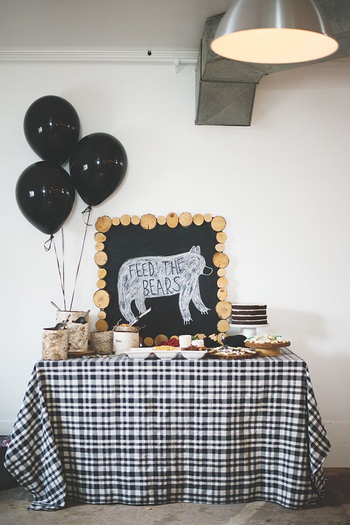17 Ideas For Throwing An Adorable Camping Themed Kids Birthday Party
