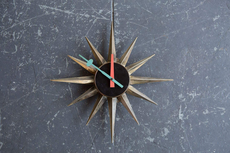 George Nelson Sunburst Clock 2202 Products