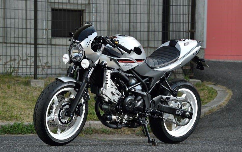 rocketgarage cafe racer suzuki sv650 rally sportbikes pinterest motorrad. Black Bedroom Furniture Sets. Home Design Ideas