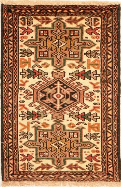 Karaja Woven: Hand Knotted Size: 2′ x 3'1″