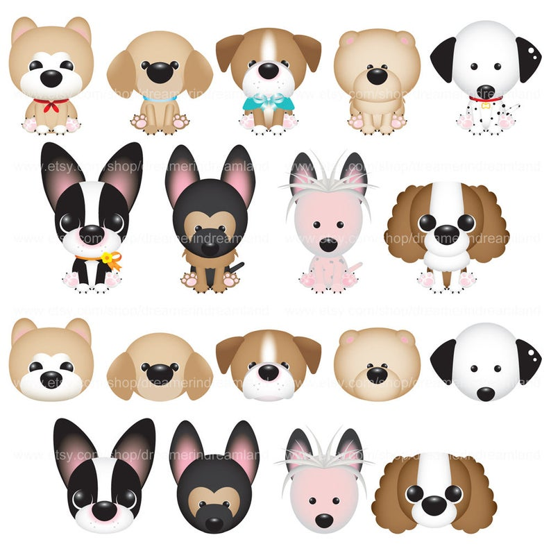 Dog Puppy Animal 3 Svg Png Eps Vector Instant Download Etsy French Bulldog Art Dogs And Puppies Dogs