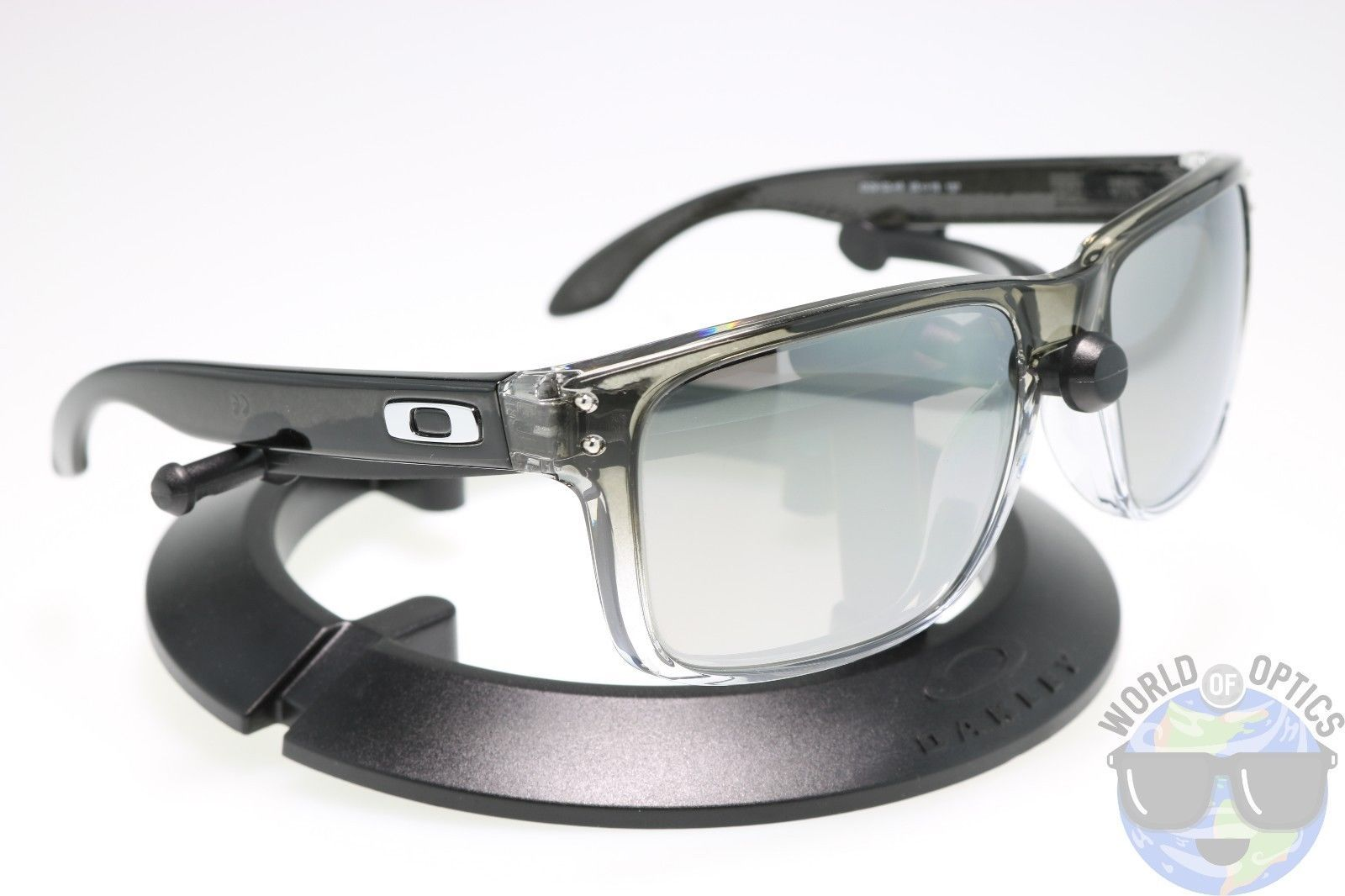 1b64c7528de1b Oakley Holbrook Sunglasses OO9102-A9 Dark Ink Fade w  Chrome Iridium  Polarized