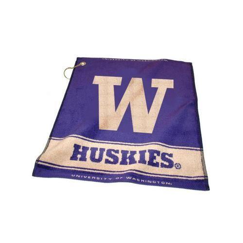 University of Washington Woven Golf Towel