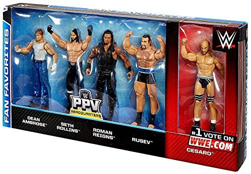 WWE CESARO RAW MATTEL BASIC SERIES 73 WRESTLING FIGURE ACTION TAG TEAM NXT TNA