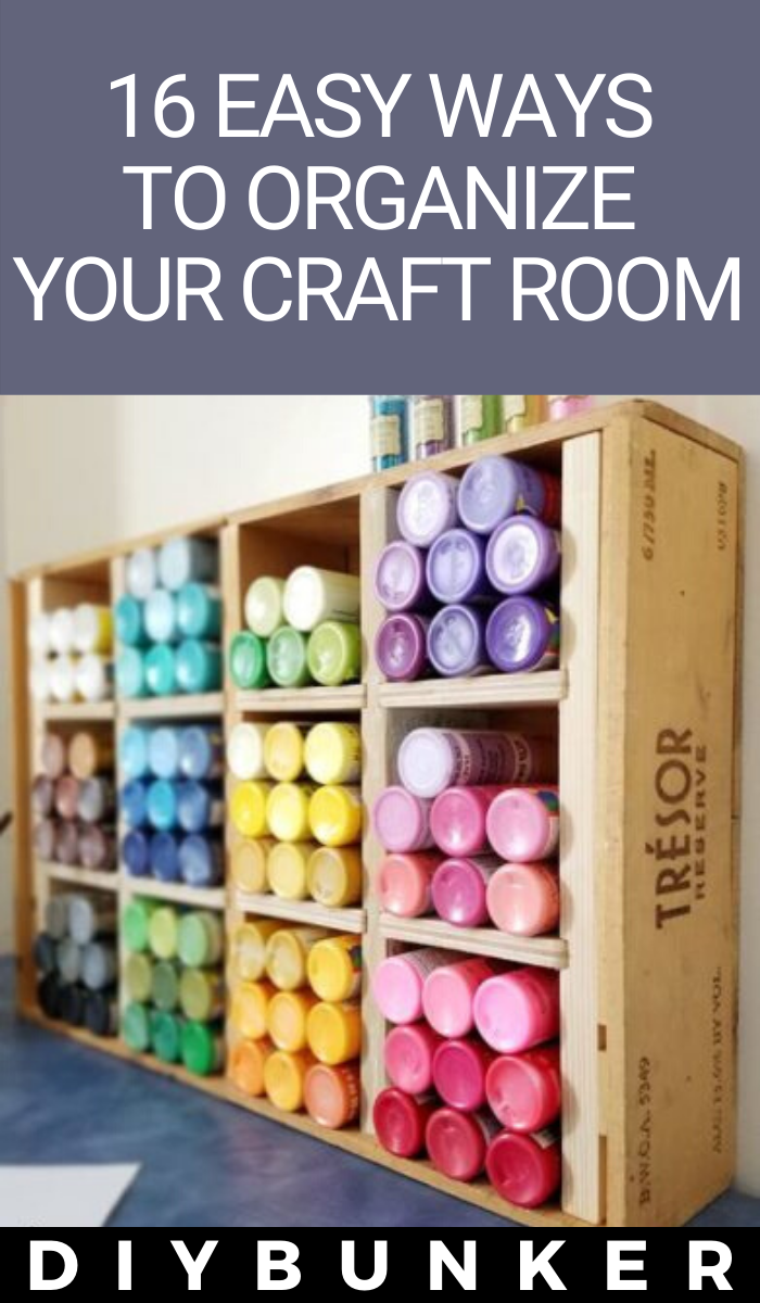 craft room organization ideas 16 ways to store supplies on fast and easy ways to refresh your home on a budget id=36532