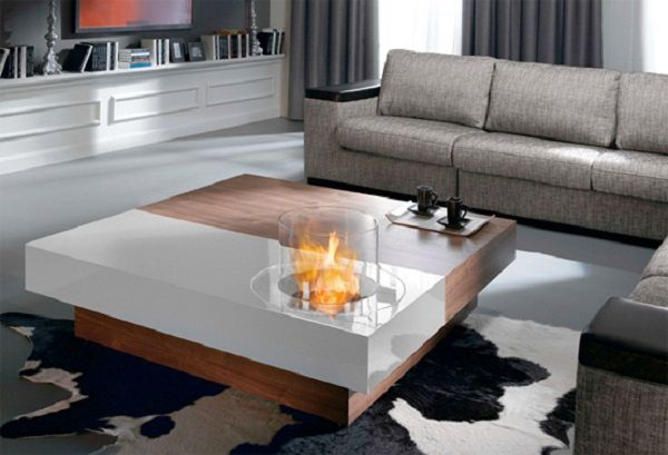Coffee Table With Fire Pit Indoor - Coffee Table Design Ideas