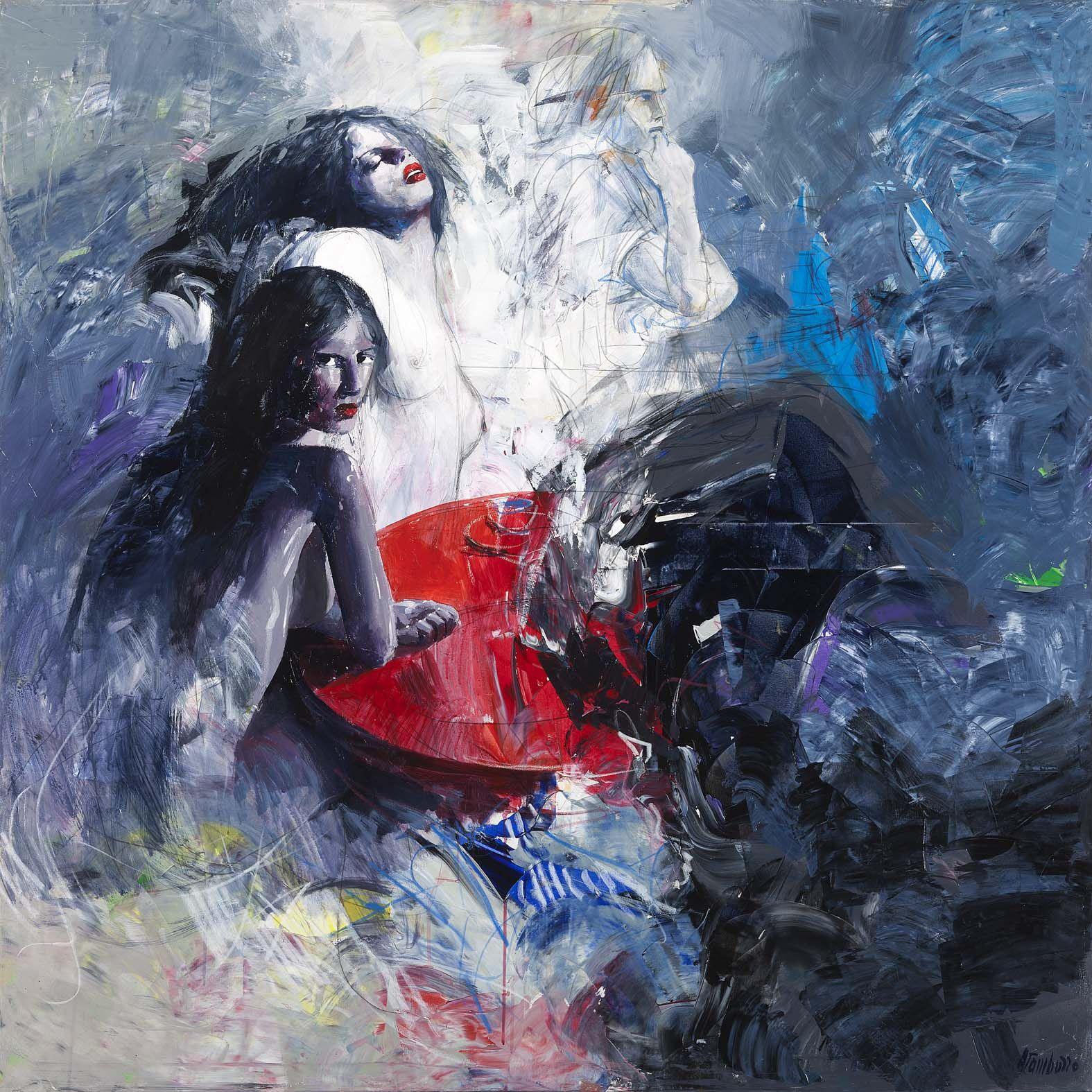 Artiste Peintre Contemporain Toulouse antonio tamburro - galerie alain daudet toulouse, france