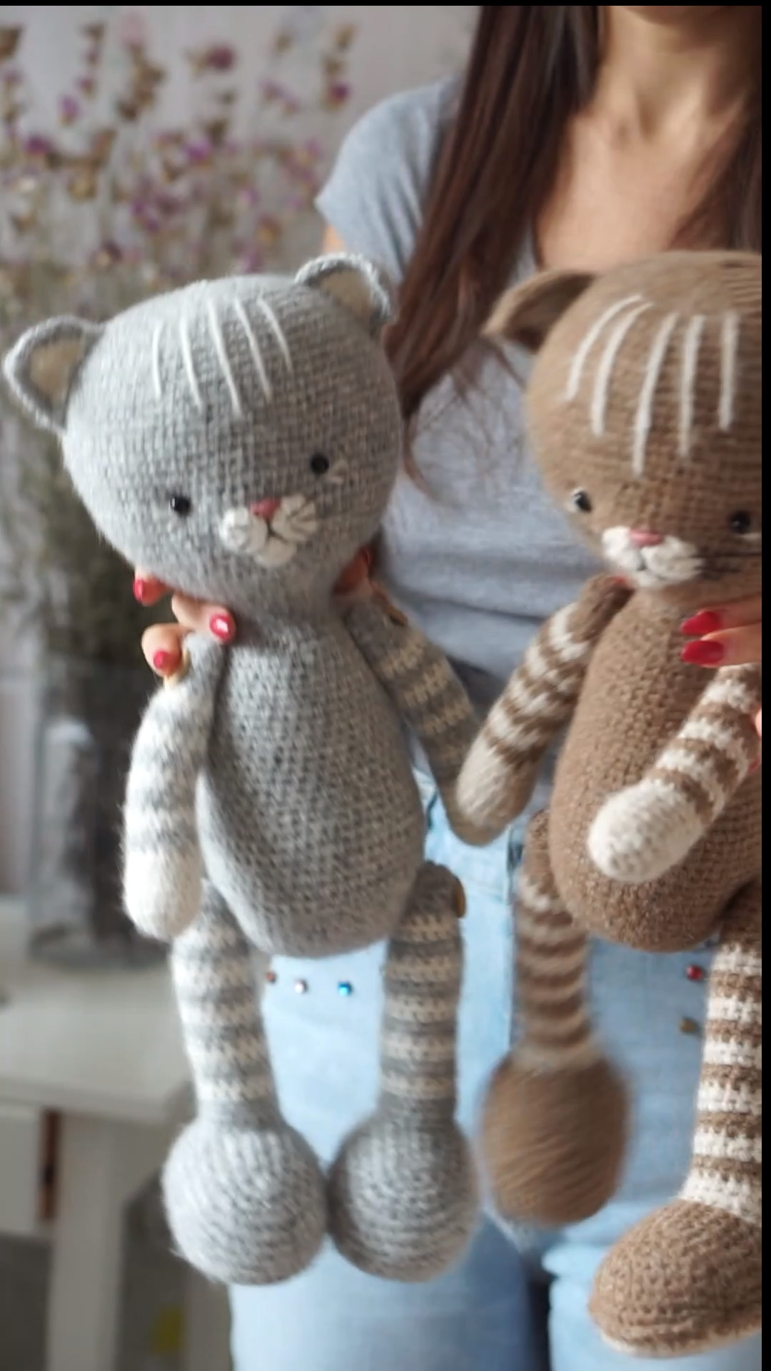 Photo of How to crochet cats – crochet pattern and video tips by Polushkabunny