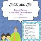 A printable nursery rhyme mini-packet for jack and Jill.    Included: Directions Classroom poster or printable page for poetry folder ...