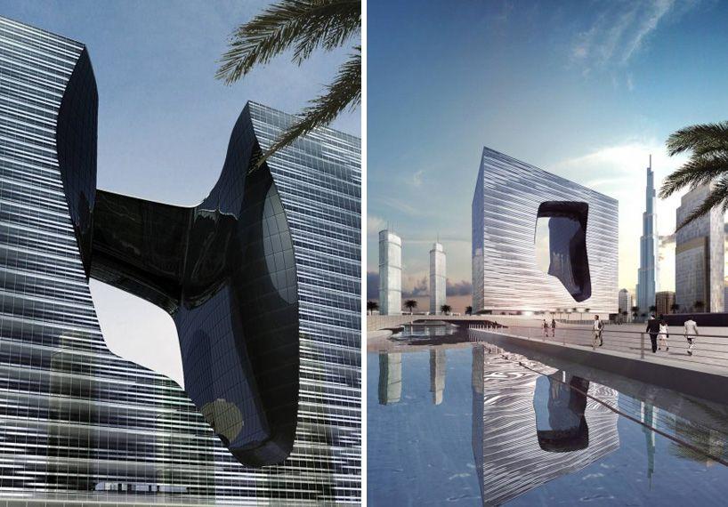 zaha-hadid-the-opus-dubai-designboom-06 | Hotels & Spa | Pinterest