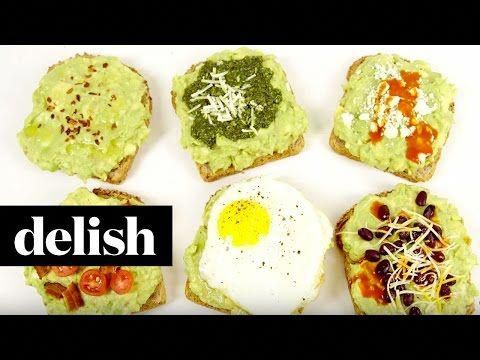 These Incredible Avocado Toast Ideas Will Keep You Slim All Year Long