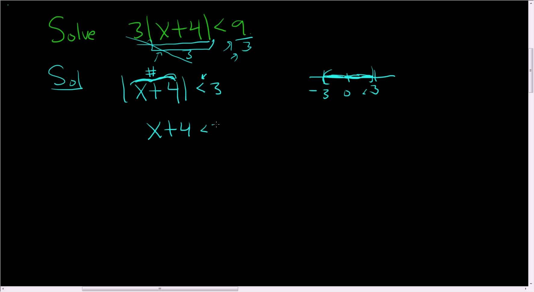 Solving An Inequality Involving Absolute Value Example