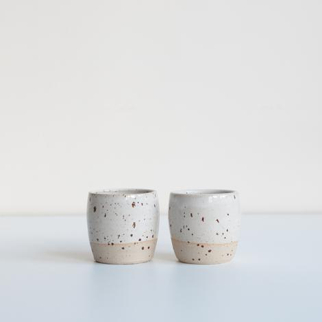 Modern Ceramic Cups Hand Throw in Cornwall | DOR & TAN