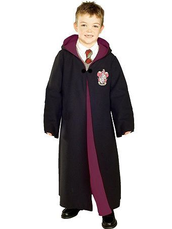 deluxe gryffindor robe childrens costume