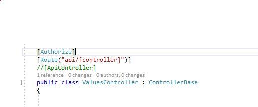Asp Net Core 3 0 web API token based authentication example