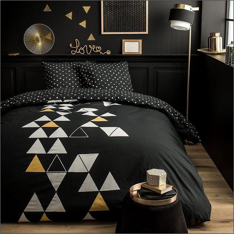 Deco Chambre Noir Et Dore Deco Chambre Noire Deco Chambre