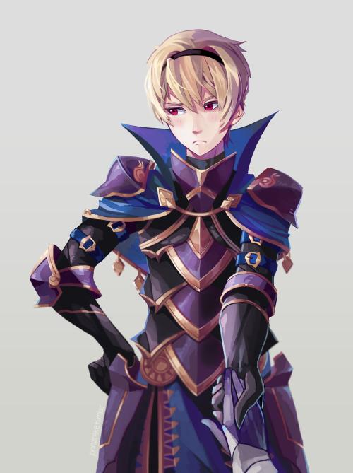 "prinzcake: ""Leo is my Nohrian and one true FEif hubby ( •͈ᴗ•͈ ..."