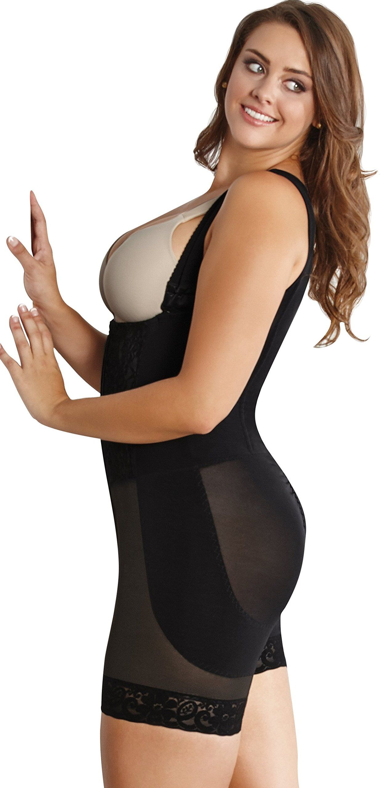 a7d2edaa46 ShapEager Braless Shapewear For Women Faja Short Wonder Shaper Plus Slimming  -- You can find out more details at the link of the image.