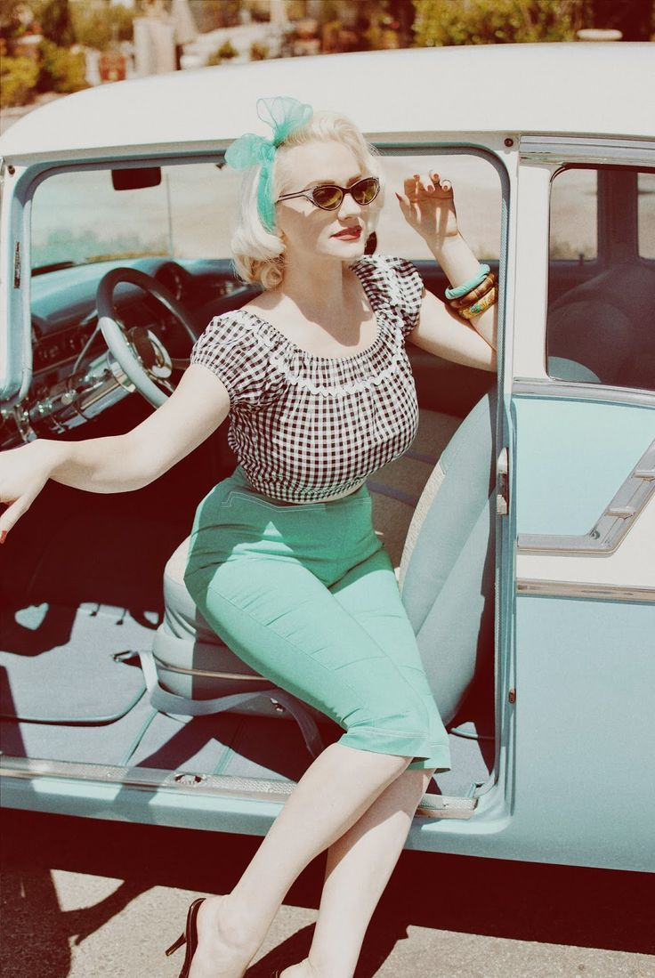 Image result for pin-up retro 50s style | old times | Pinterest