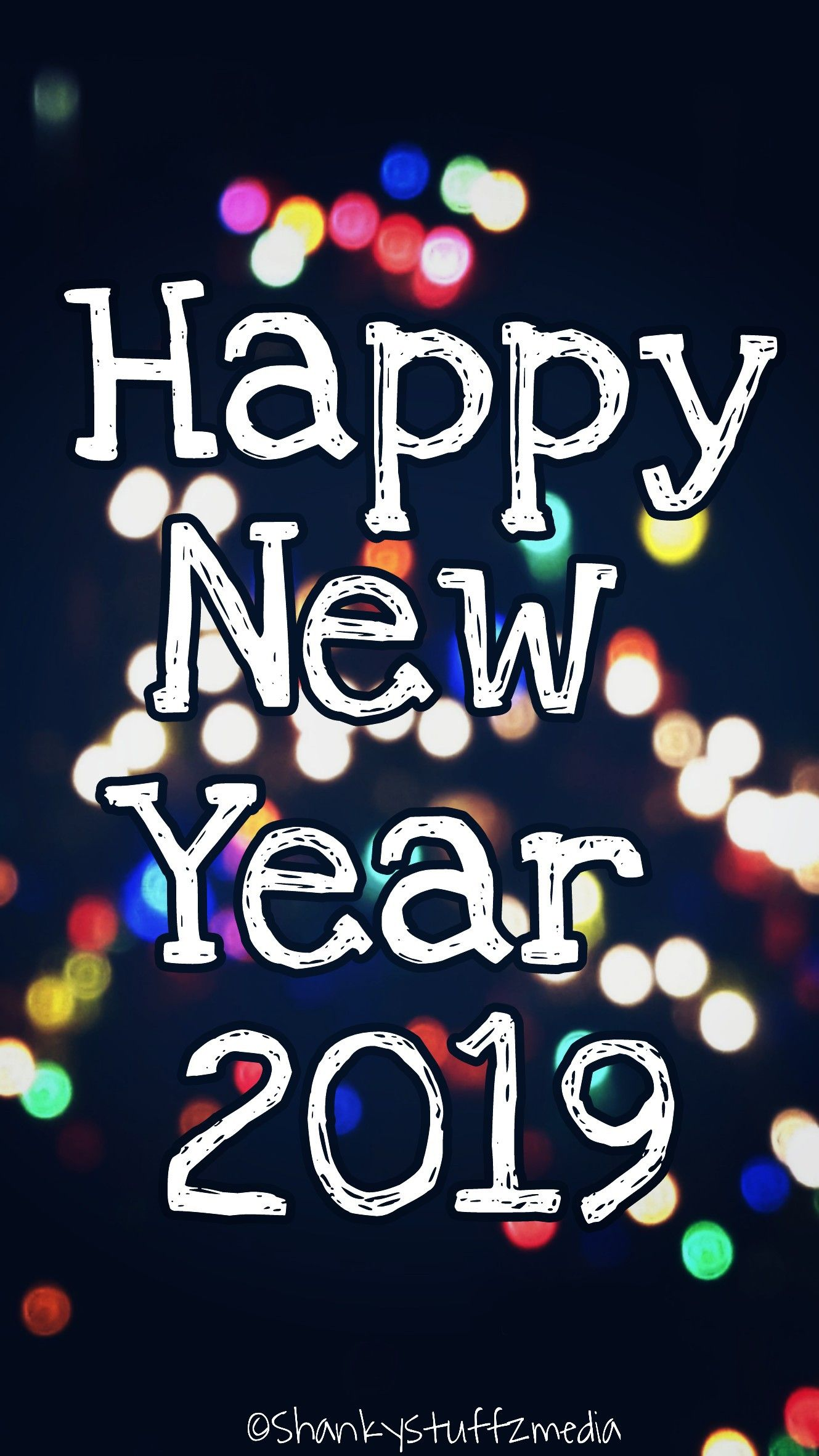 Happy New Year 2019 Wishes Images Happy New Year Pinterest