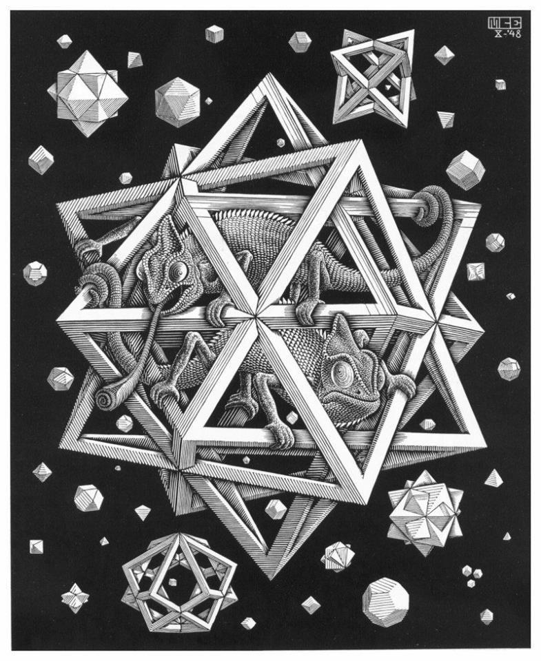 M C Escher Mc Escher Produccion Artistica Galeria De Arte